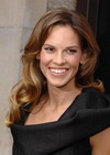 Hilary Swank 2 Golden Globes