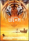 Life of Pi Best Sound Editing Oscar Nomination
